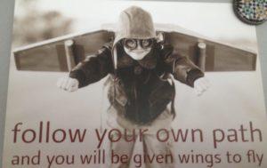 persoonlijk leiderschap- follow your own pad